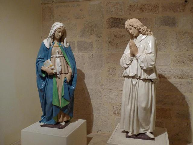 Luca della Robbia - annunciazione a aa.preview