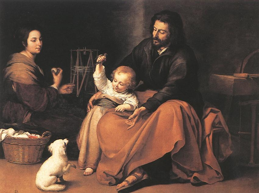 Murillo_The_Holy_Family_1650