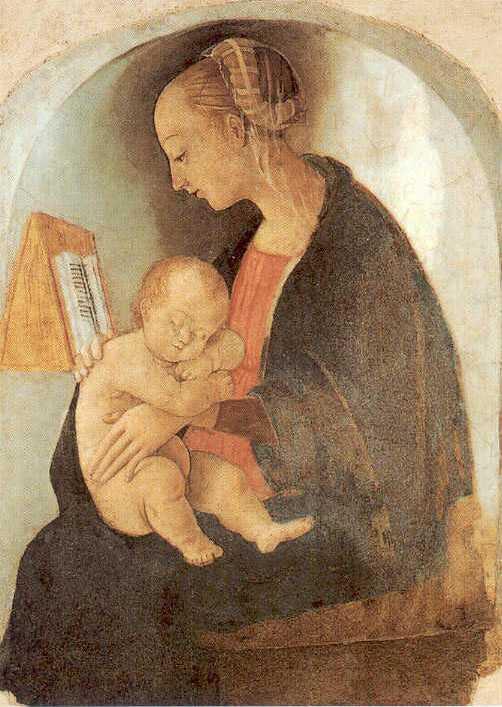 Мадонна с младенцем, 1498