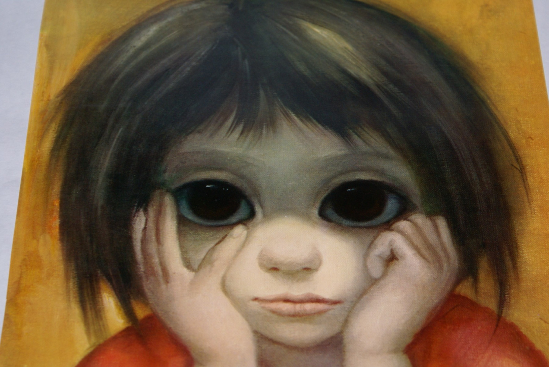 глазами рисунки с огромными