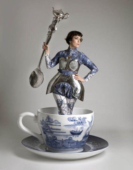 Teefrau