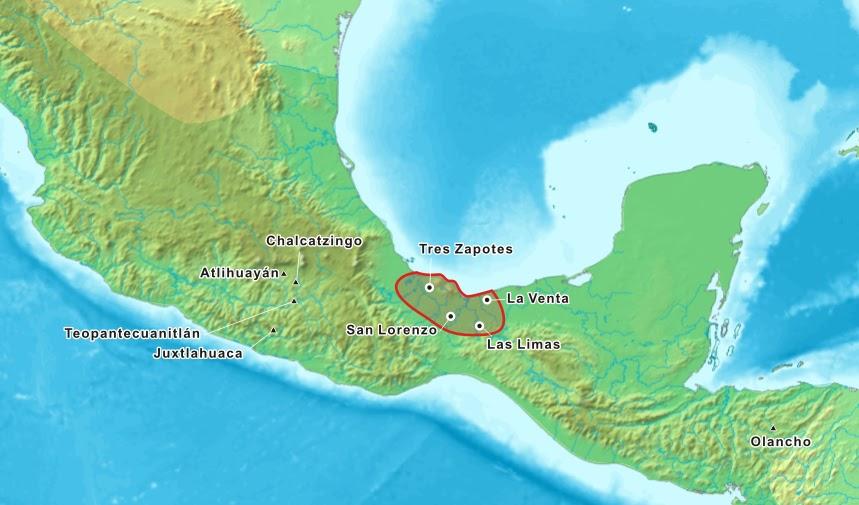 plano Olmeca