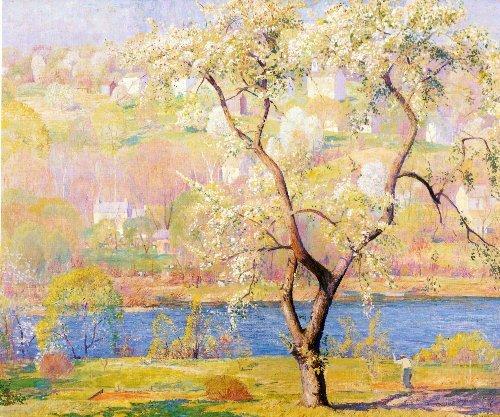 daniel_garber_-_spring_panel_1932_42x50