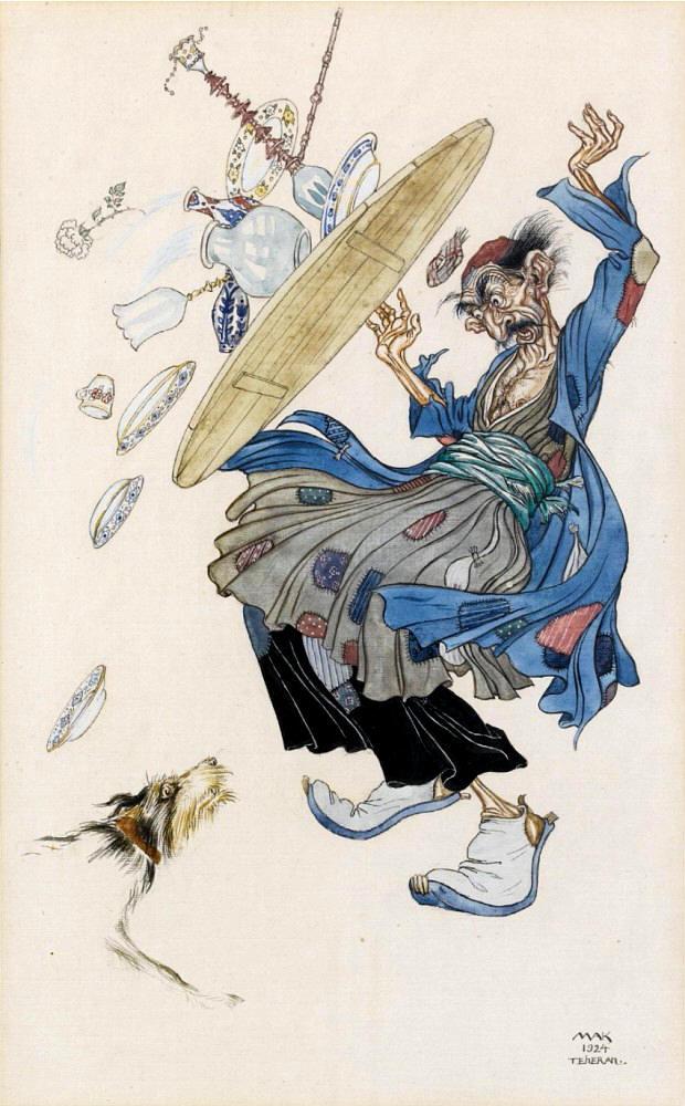 Desastre por culpa del perro - 1924 - 24,7 x 15,4