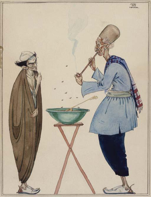 Mendigo persa y recaudador - 1924