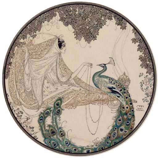 Scheherazade y el pavo real - 1924