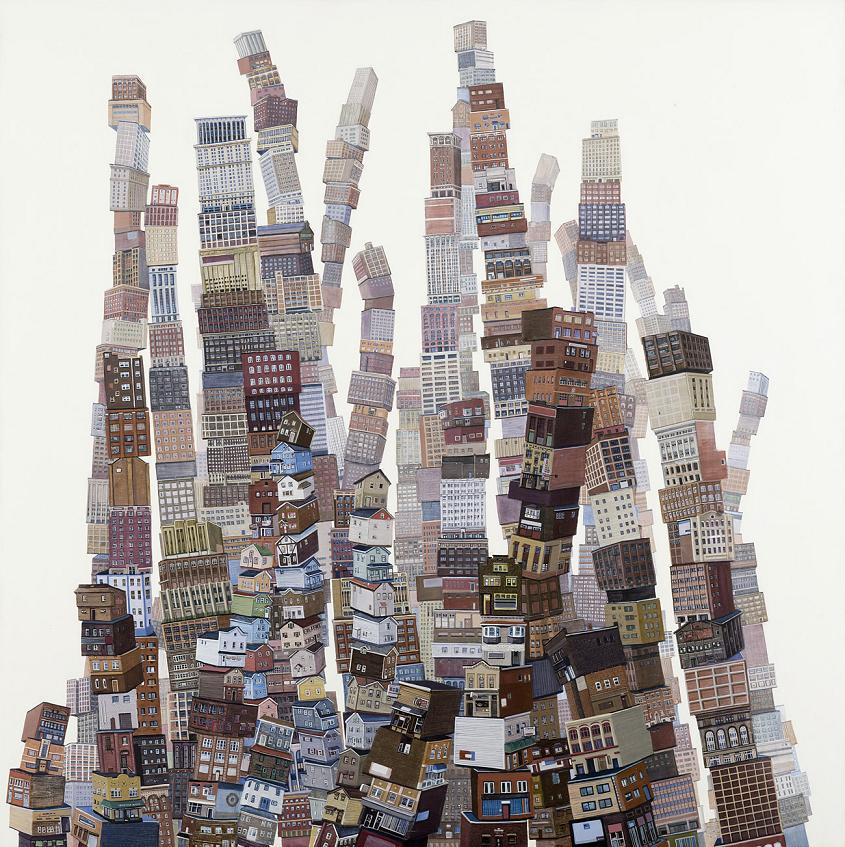 Ciudad extendida - 2012 -20 x 20 completo