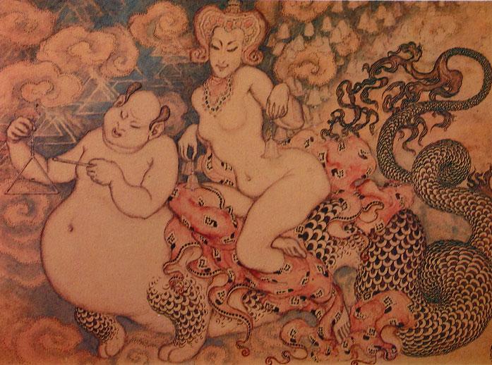 19 - La mujer y Buda - 1924
