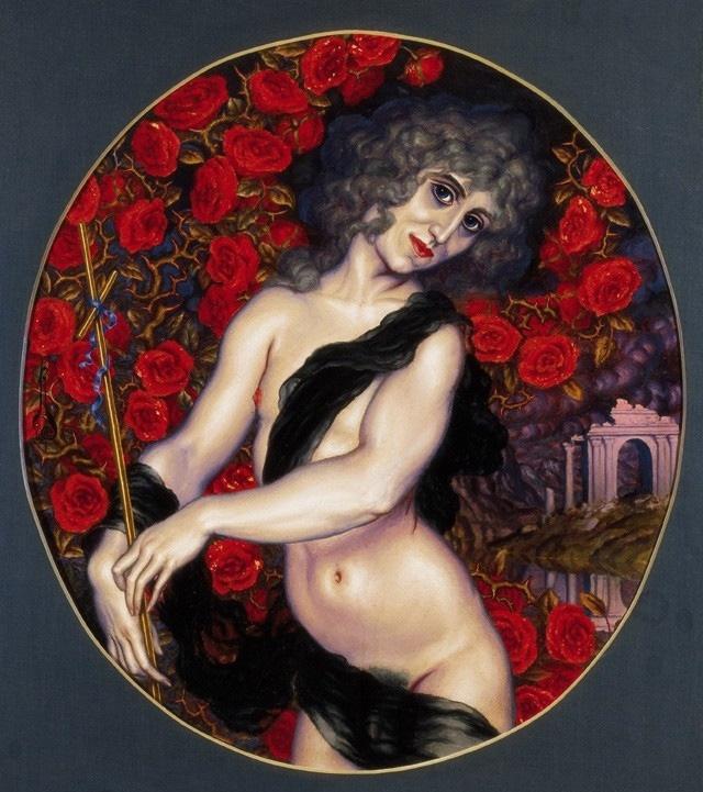 31 - Autorretrato como Juan el Bautista - 1921