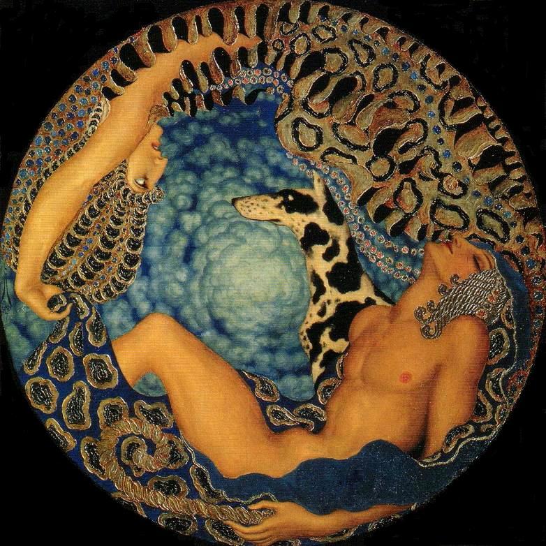 Artemisa y Endimion - 1917 a