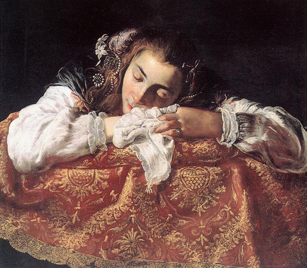 FETI_Domenico_Sleeping_Girl