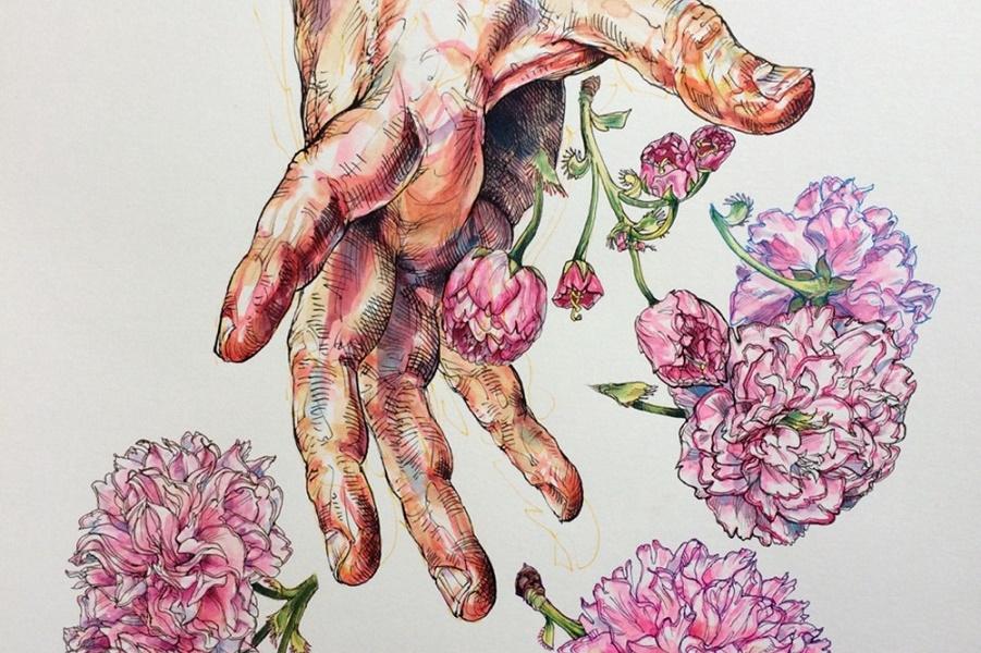 В ожидании весеннего цветения…. Иллюстрации Noel Badges Pugh