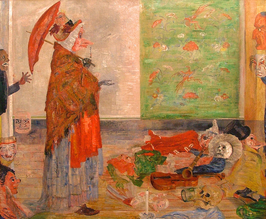 Живопись_James-Ensor_Astonishment-of-the-Mask-Wouse.-1889.jpg