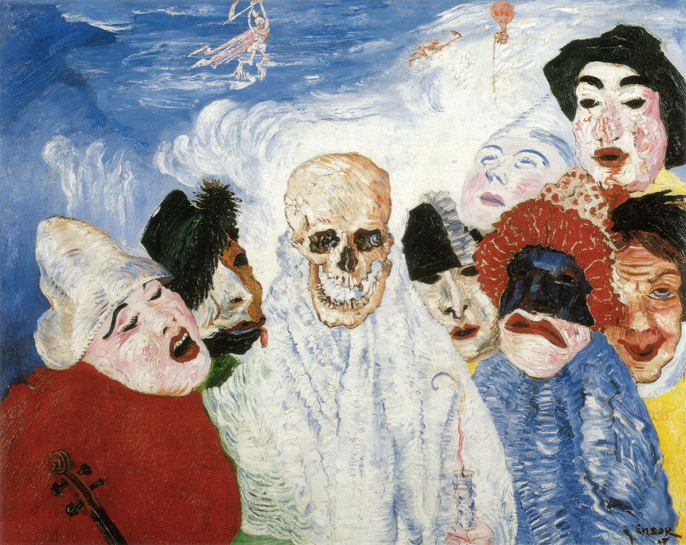 Живопись_James-Ensor_Death-and-the-Masks.-1897.jpg