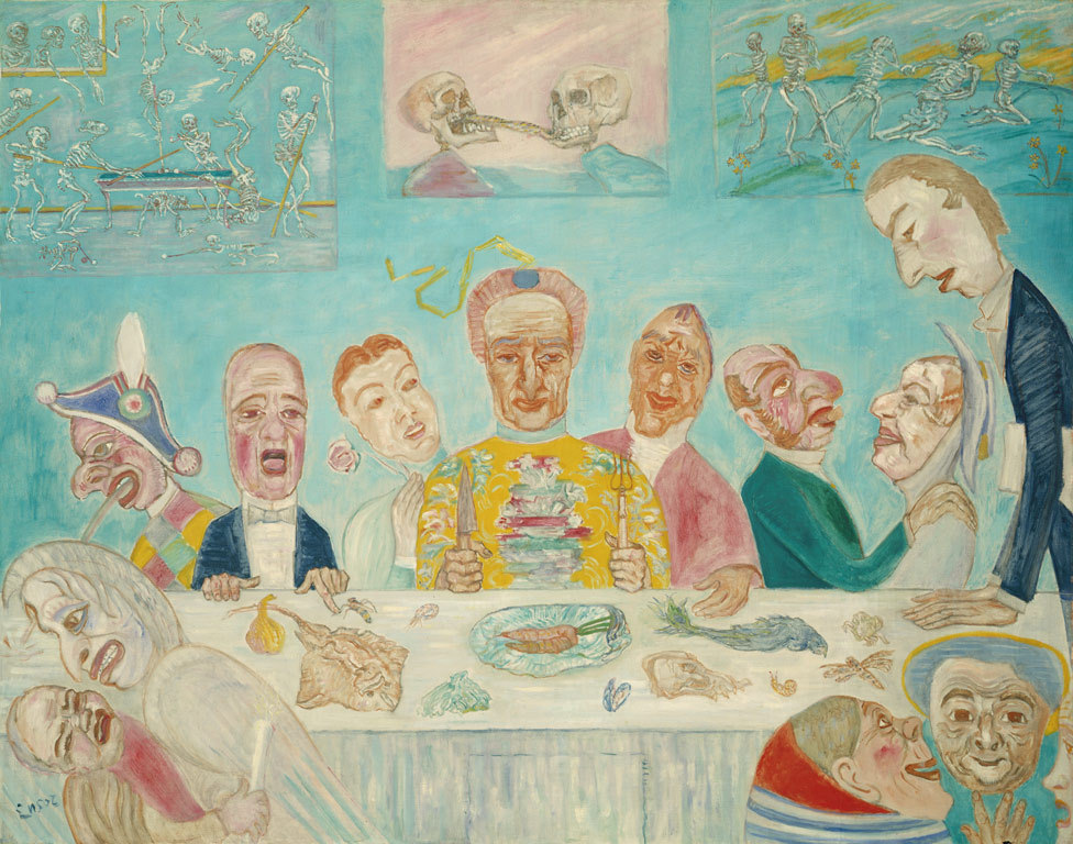 Живопись_James-Ensor_The-Banquet-of-the-Starved.-1915.jpg