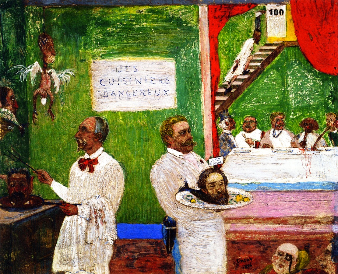 Живопись_James-Ensor_The-Dangerous-Cooks.-1896.jpg
