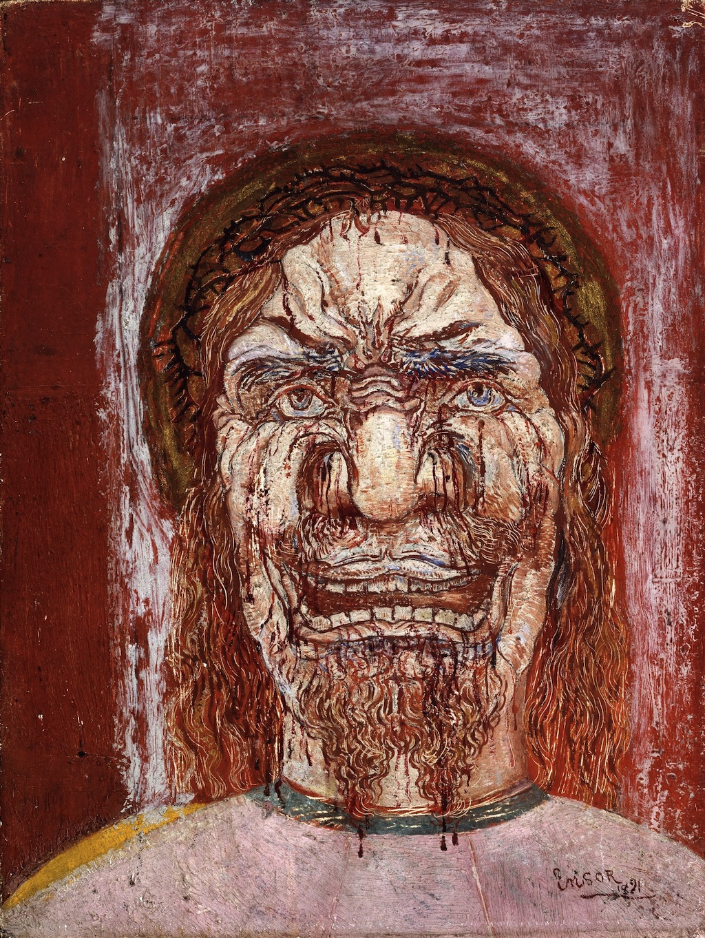 Живопись_James-Ensor_The-Man-of-Sorrows.-1891.jpg