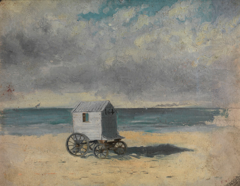Живопись_James-Ensor_The-Bathing-Hut.-Afternoon.-1876.jpg