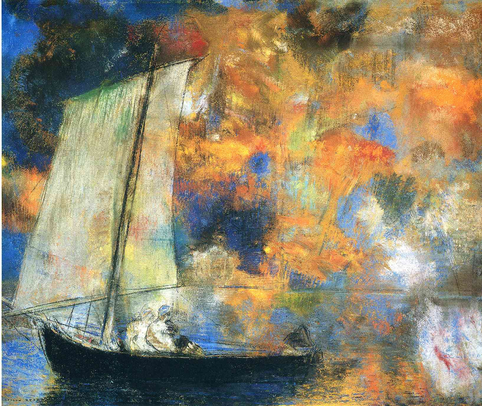 Графика_Одилон-Редон_Flower-Clouds-1903.jpg