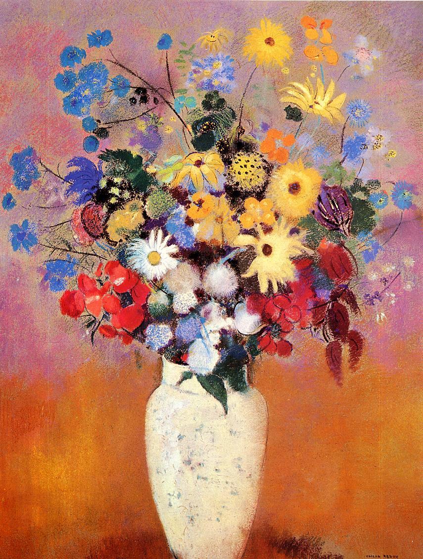 Живопись_Одилон-Редон_White-Vase-with-Flowers.jpg