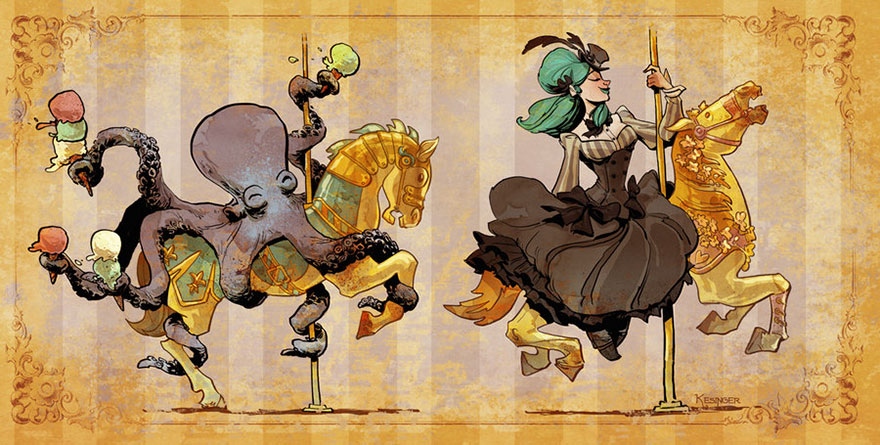 octopus-otto-and-victoria-steampunk-illustrations-brian-kesinger-75-59438bff5565f__880.jpg