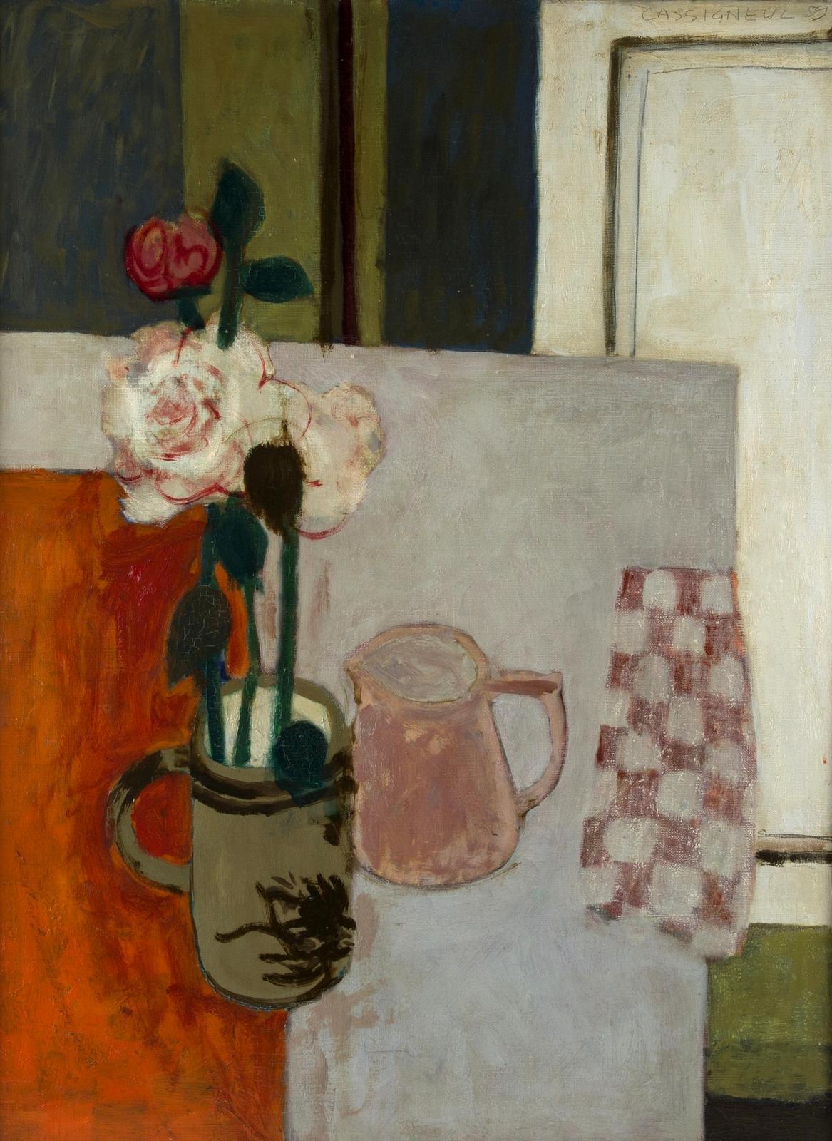 1959_Натюрморт с цветами и кувшином (Still Life with Flowers and a Jug)_72.5 x 54_х.,м._Частное собрание.jpg