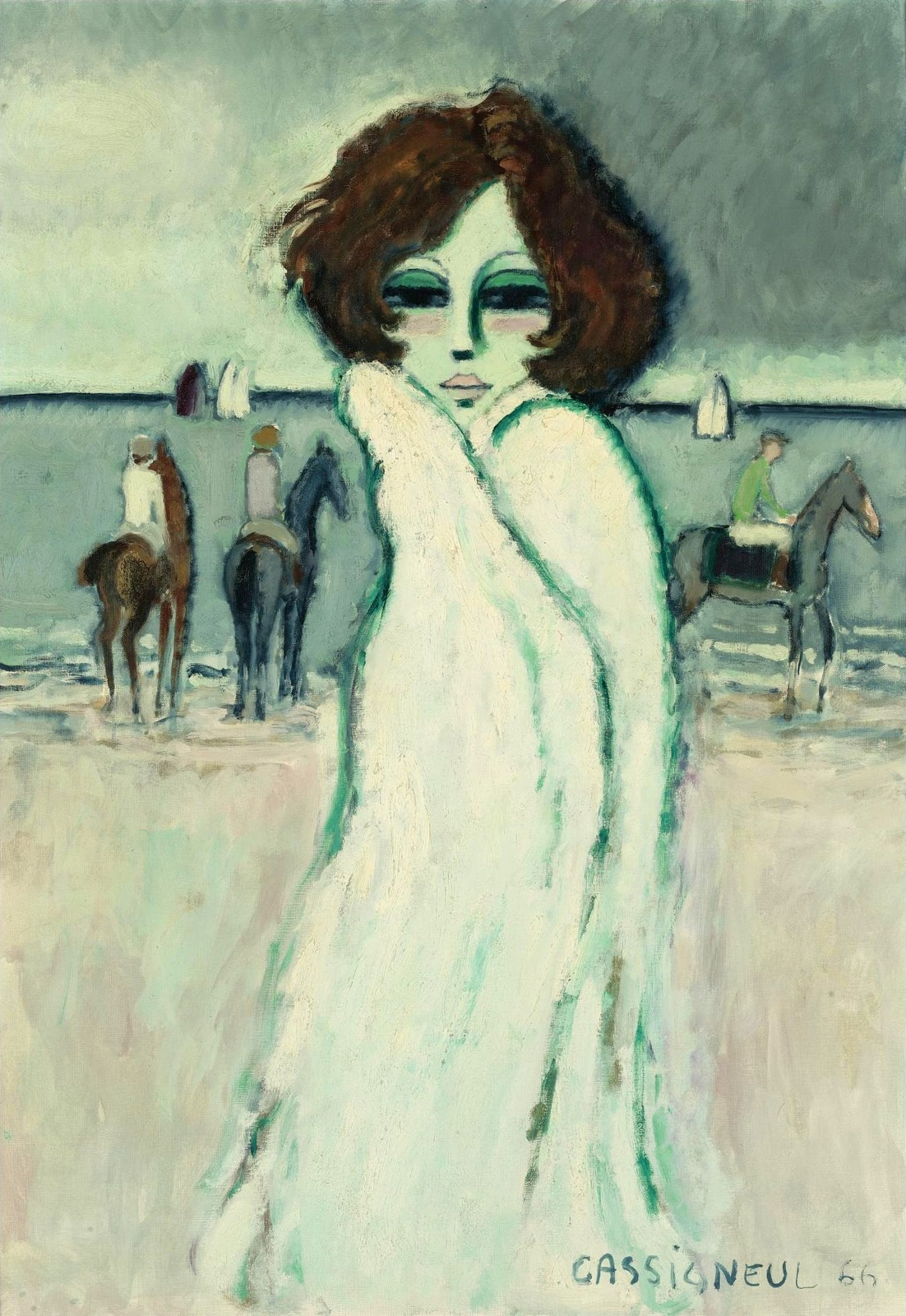 1966_Женщина на пляже (Femme sur la plage)_92.5 х 64.9_х.,м._Частное собрание.jpg