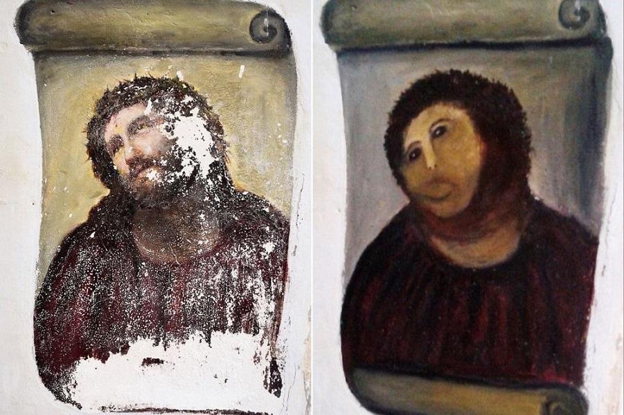 Испортить фреску и спасти город