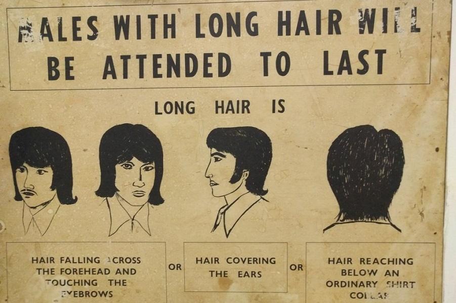 Сингапурский запрет на длинные волосы в 1960-х годах