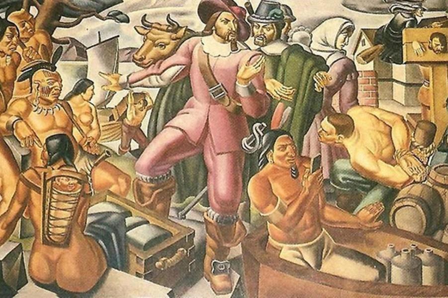 Тайна фрески 1937 года