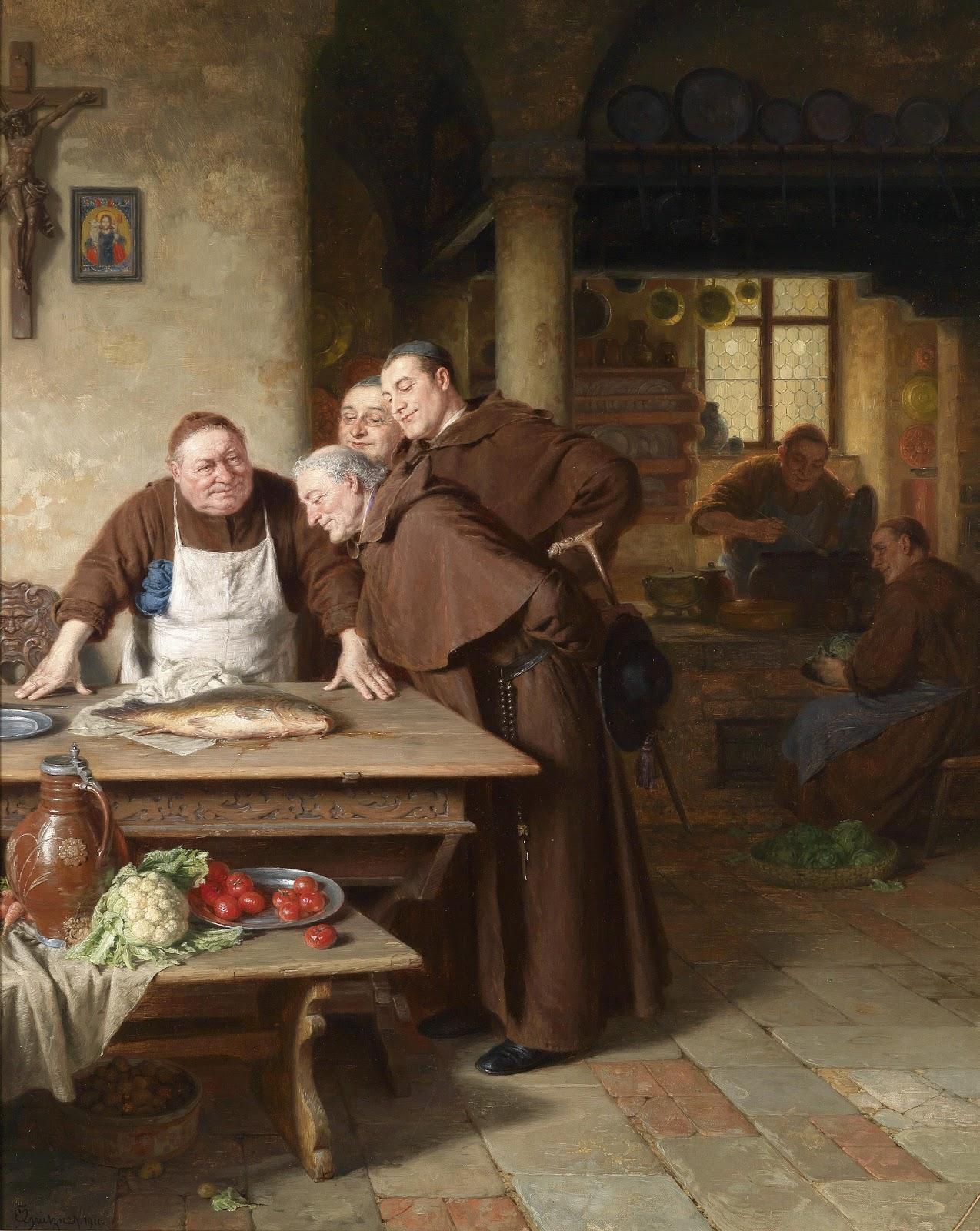 Eduard_Grützner_In_der_Klosterküche_1911.jpg