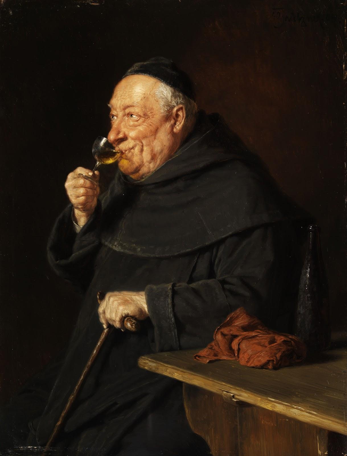 Monk at the wine tasting.jpg