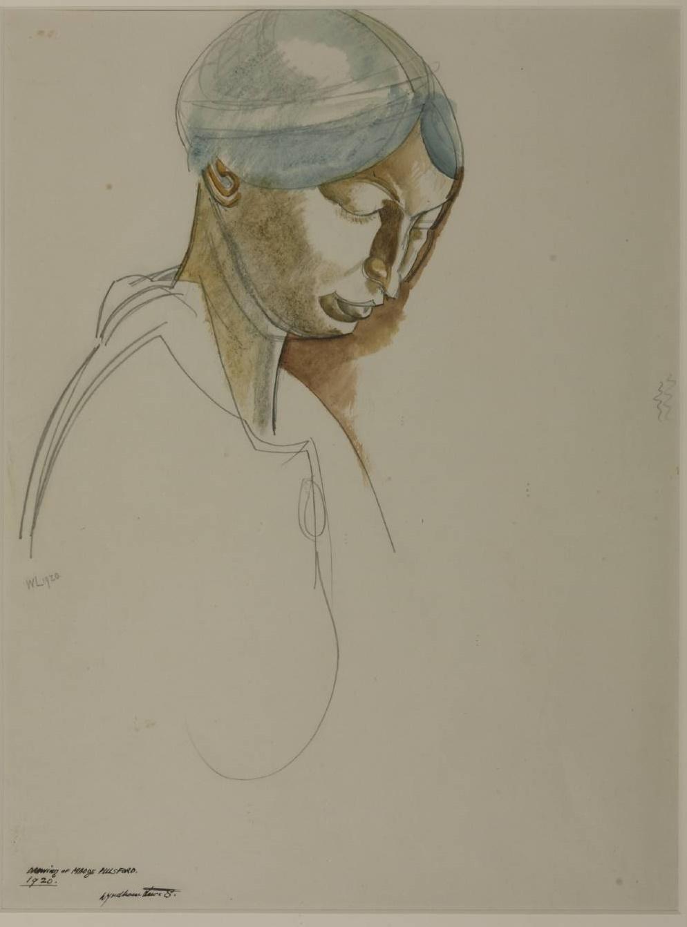 Wyndham Lewis Madge Pulsford, 1920.jpg