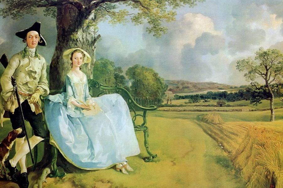 Картина Гейнсборо содержит «скрытые пенисы» - можете ли вы их заметить?