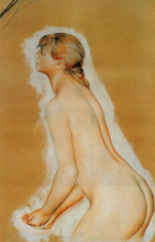 nude-study-for-the-large-bathers-1887 Art Institute of Chicago, Chicago, IL, USA.jpg