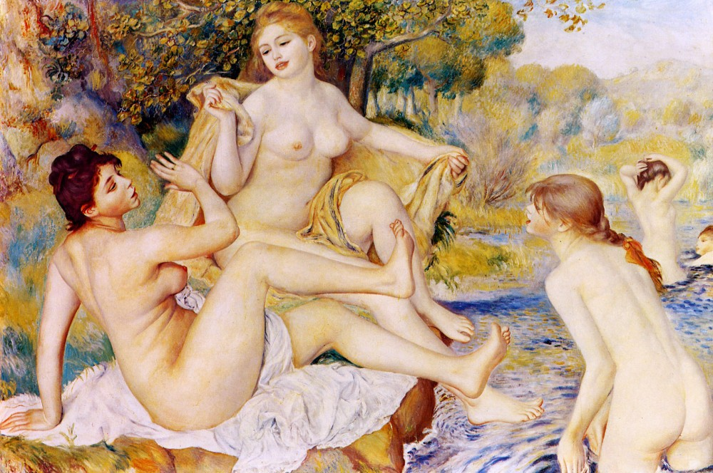 the-large-bathers-1887 170х115 Philadelphia Museum of Art, Philadelphia, PA, USA.jpg