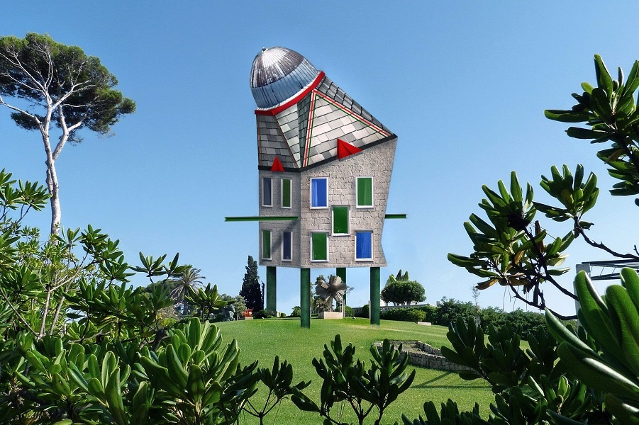 Если бы наши дома были разработаны детьми, они бы выглядели так