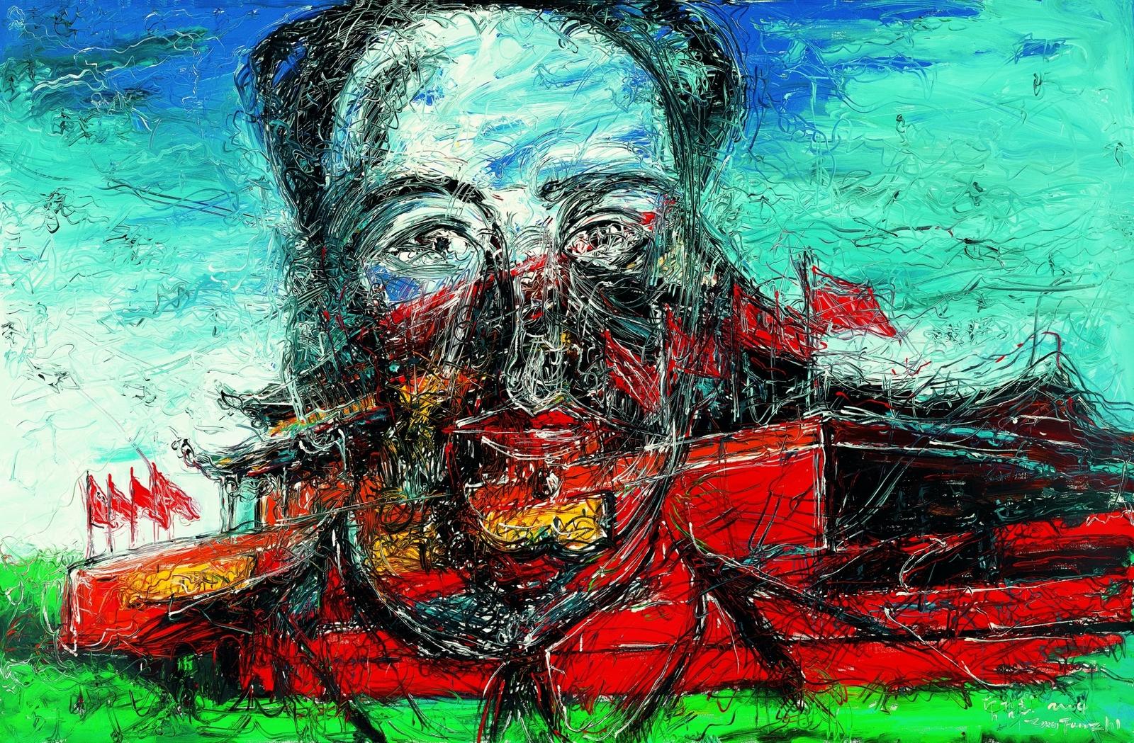 2004_Тяньаньмэнь (Tiananmen)_21.5х 33_х.,м._Частное собрание.jpg