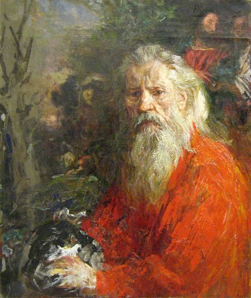 Soviet-painter-Andrey-Sergeyevich-Bantikov-1914-2001.-Self-portrait-1980s.jpg