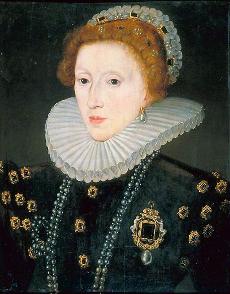 1580 Queen Elizabeth I 1533-1603 Unknown Artist after Zuccarro.jpg