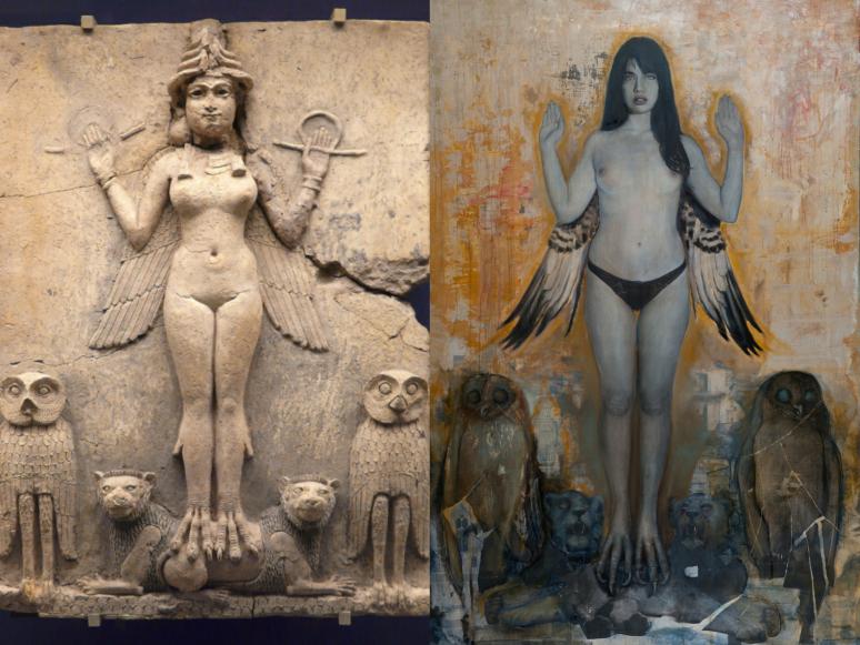 sumerian-goddess-inanna-michel-mandurino-collage.jpg
