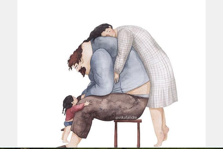 Любовь между папами и дочками