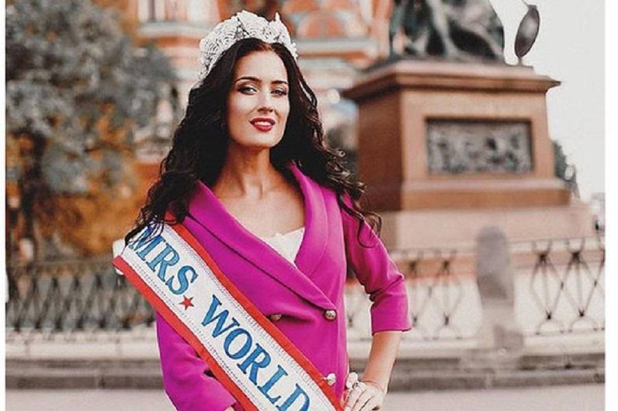 На конкурсе «Миссис Мира» Россиянка вошла в ТОП 12