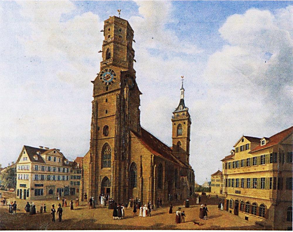 Stiftskirche 1818, LKM.jpg