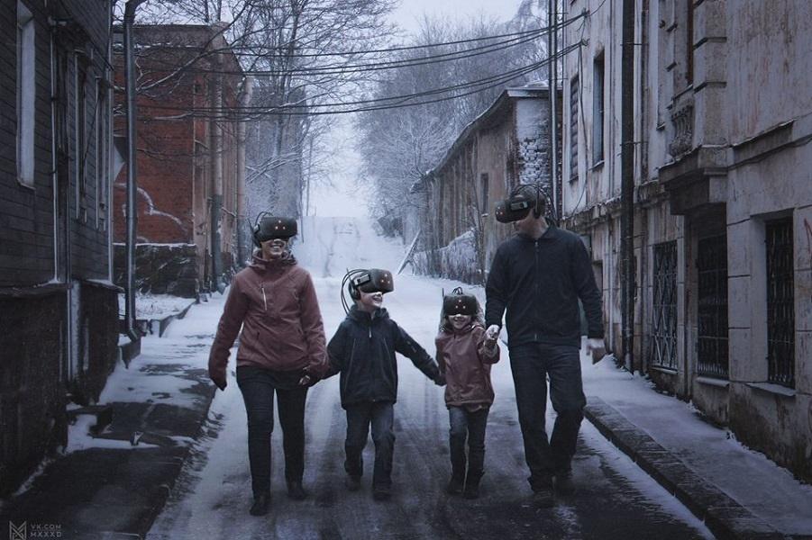 «Россия в 2046 году» с элементами советского быта