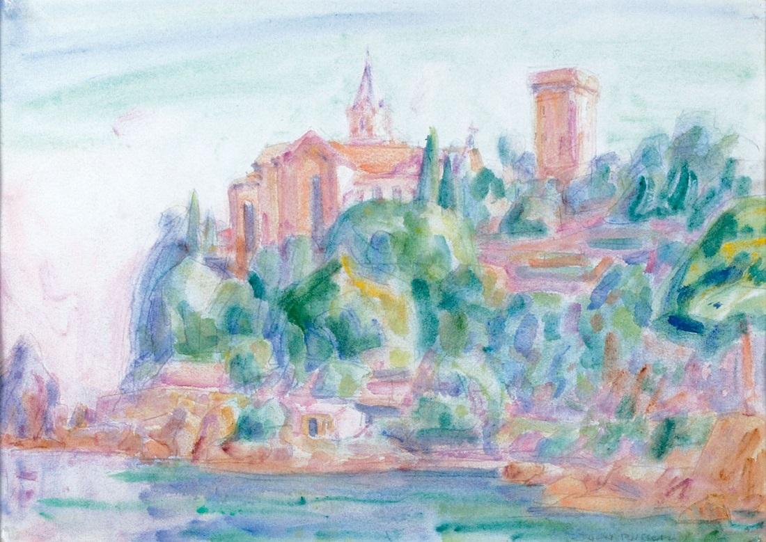 Живопись_Джон-Питер-Рассел_Castello-Brown-Portofino-1920.jpg