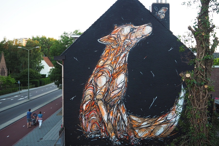 Murals from Jia all over the world
