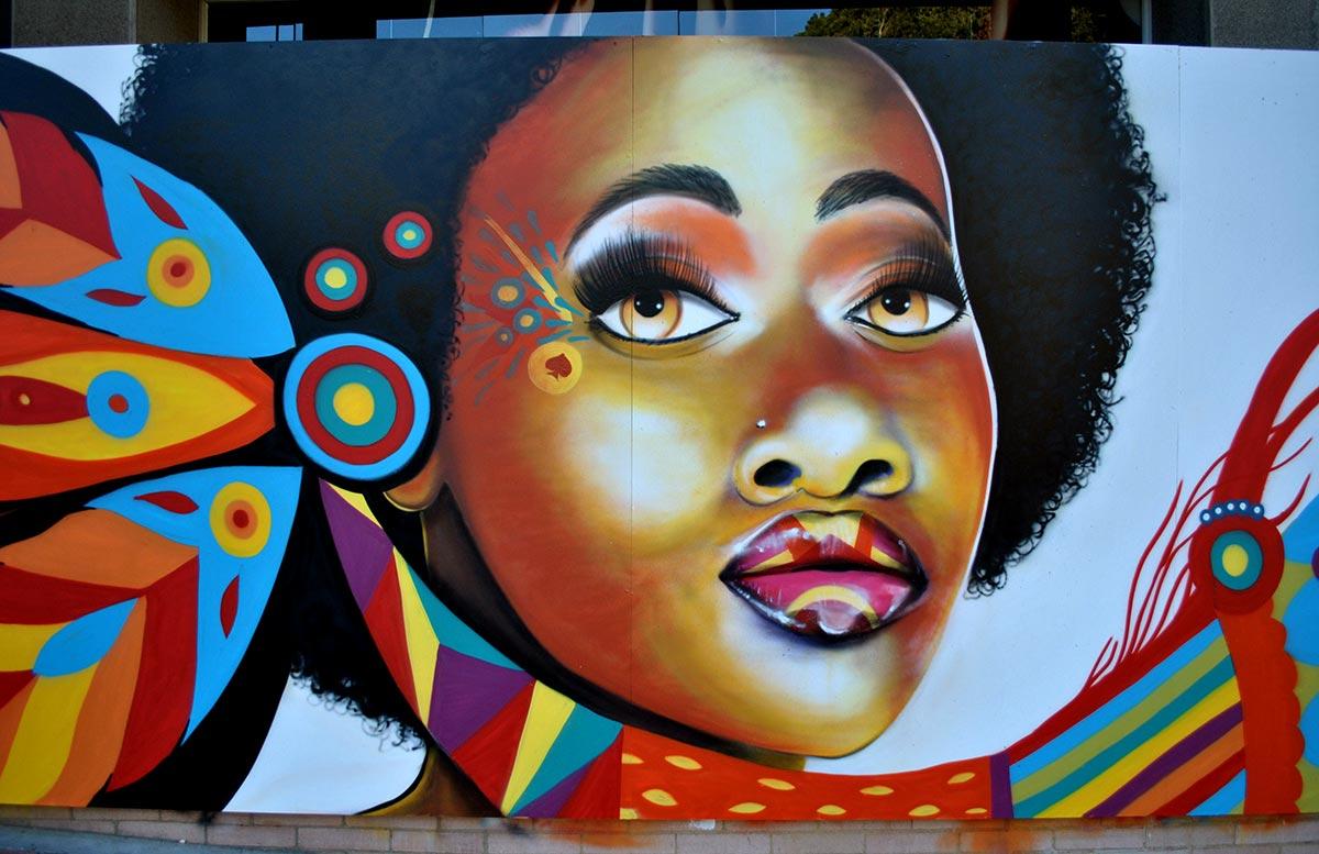 Всемирно известный граффити в Боготе - на фотографиях