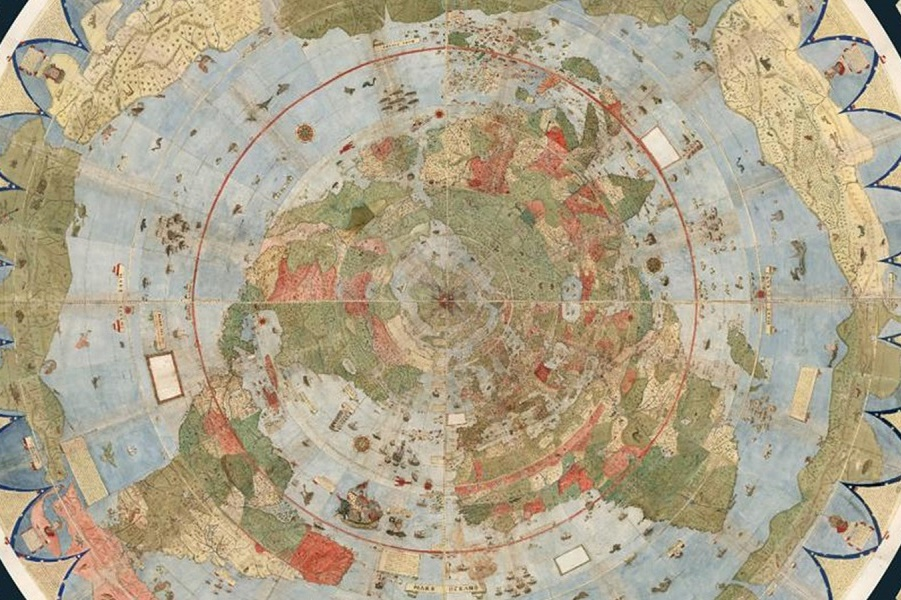 Article - Bizarre, Enormous 16th-Century Map Assembled for First Time.jpg