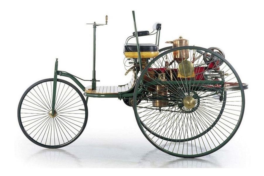 Benz Patent-Motorwage 130 лет назад